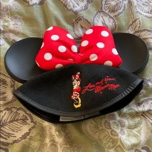 Minnie Mouse Ears Hat Vintage